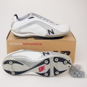 New Balance 991 Low Cut Football Cleats MF991LW White with Silver
