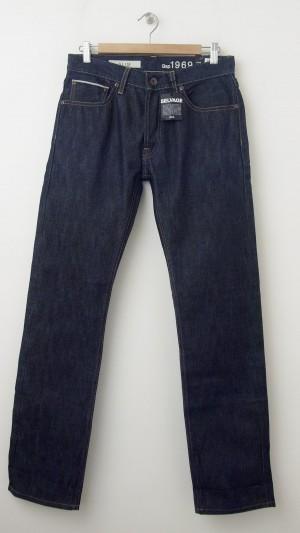 NEW Gap 1969 Slim Fit Selvage Jeans