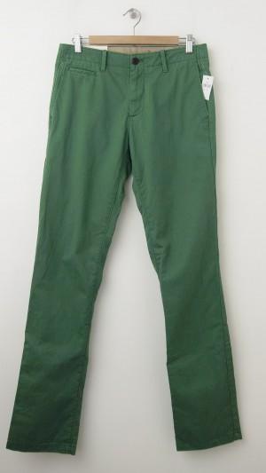 NEW Gap Men's Lived-In Slim Khaki Pants in New Grass Green