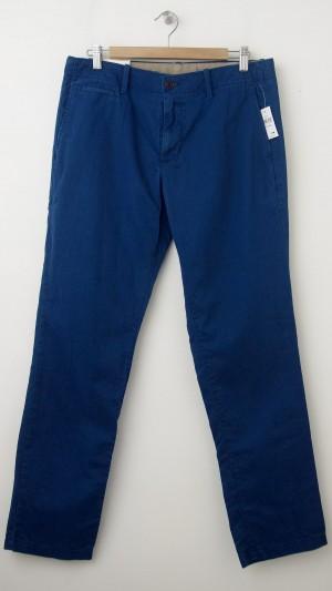 NEW Gap Men's Lived-In Slim Khaki Pants in New Zephyr Blue