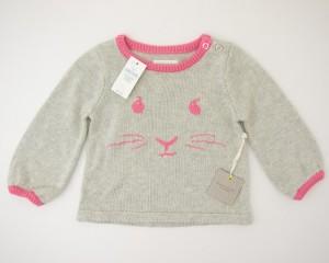 NEW babyGap Beatrix Potter Intarsia Peter Rabbit Sweater in Kitty