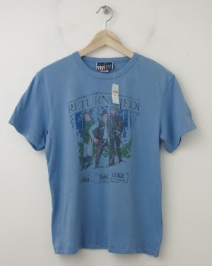 NEW GapKids Junk Food Star Wars Return of the Jedi Tee T-Shirt in Blue
