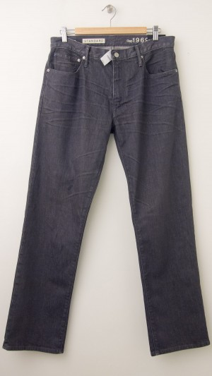 NEW Gap 1969 Standard Fit Jeans in Sacco Grey