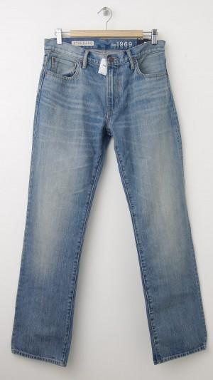 NEW Gap 1969 Standard Fit Jeans in Smoke