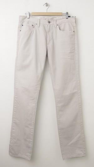 NEW Gap 1696 Slim Twill Pants in White