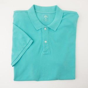 NEW Gap Modern Pique Polo Shirt in Green Cascade