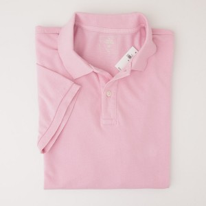 NEW Gap Modern Pique Polo Shirt in Parfait Pink