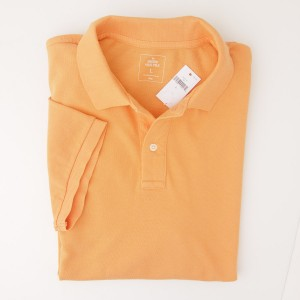 NEW Gap Modern Pique Polo Shirt in Vintage Twist