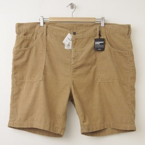 "NEW Gap 1969 Straight Fit Cord Surf Shorts (9"") in Khaki"