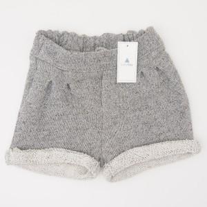 NEW babyGap Marled Cuff Shorts in Grey Marl