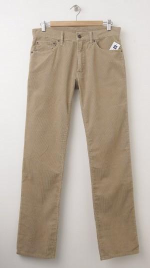 NEW Gap 1969 Cord Straight Fit Corduroy Pants in Khaki