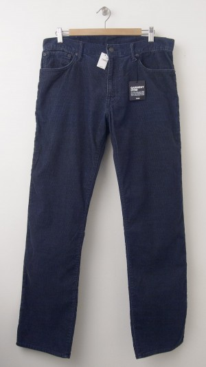 NEW Gap 1969 Cord Straight Fit Corduroy Pants in Vintage Navy