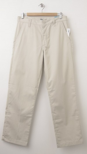 NEW Old Navy Men's Loose Fit Uniform Twill Pants in Couscous