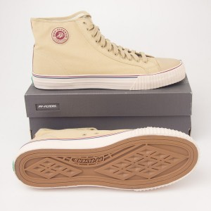 PF Flyers Center Hi Canvas Hi-Top Sneakers PM12OH3S in Taupe