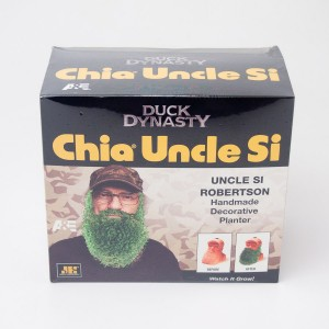 Chia Pet Duck Dynasty Chia Uncle Si Decorative Planter