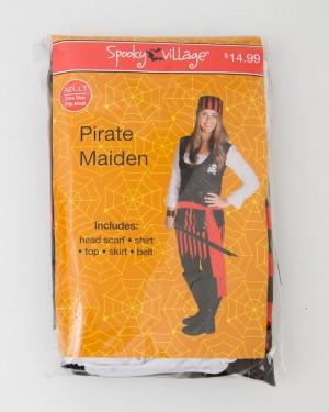 Spooky Village Halloween Pirate Maiden Costume Adult
