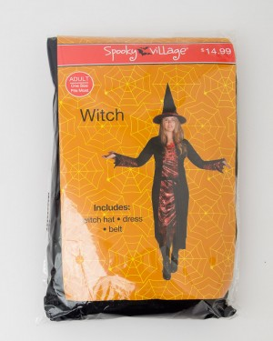 Spooky Village Halloween Witch Costume Adult