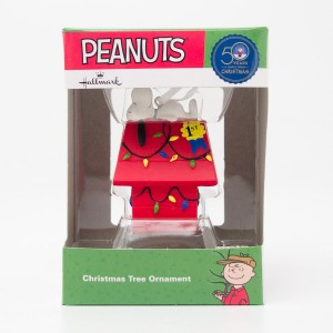 Hallmark Peanuts Snoopy Christmas Tree Ornament  2015