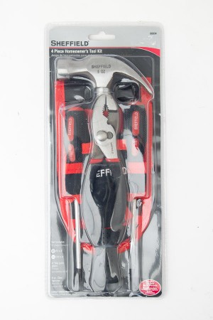 Sheffield 4 Piece Homeowners Toolkit 60034