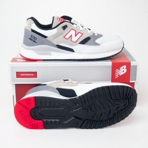 New Balance Men's 530 Elite Edition Lost Mixes Running Shoes M530LM in White