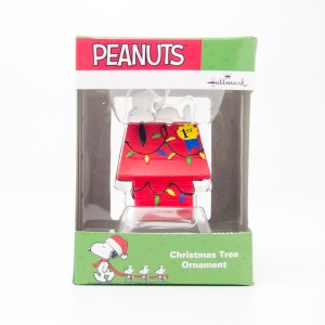 Hallmark Peanuts Snoopy Christmas Tree Ornament 2016