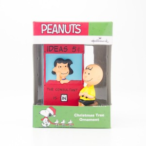 Hallmark Peanuts Charlie Brown & Lucy Christmas Tree Ornament 2016