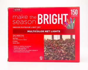 Living Solutions Multicolor Net Lights 150 Lights