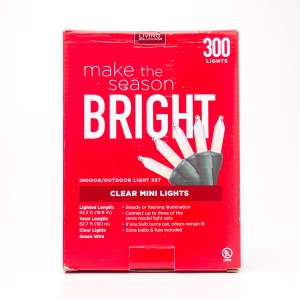 Living Solutions Clear Mini Lights 300 Lights