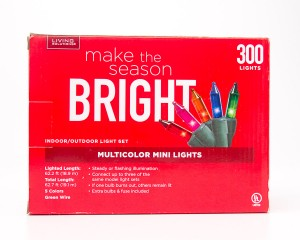 Living Solutions Multicolor Mini Lights 300 Lights