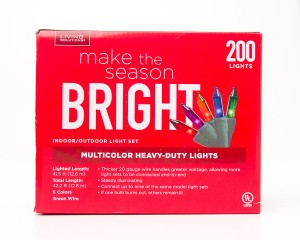 Living Solutions Multicolor Heavy-Duty Lights 200 Lights
