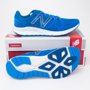 New Balance Men's Vazee Rush Running Shoe MRUSHBL in Blue