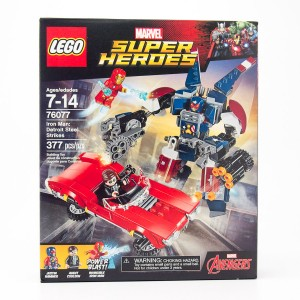 LEGO Marvel Super Heroes Iron Man: Detroit Steel Strikes #76077