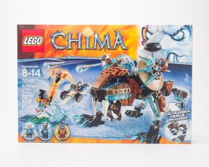 LEGO Legends of Chima Sir Fangar's Saber-tooth Walker #70143