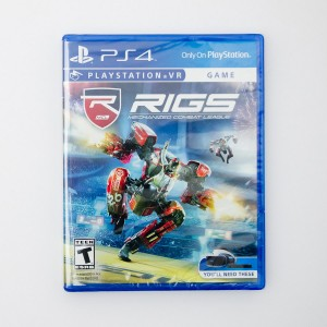 RIGS Mechanical Combat League for Sony PlayStation 4