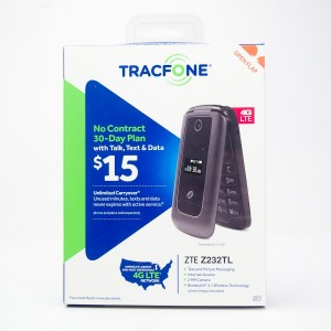 TracFone ZTE Z232TL Prepaid Flip Phone