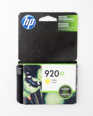 HP 920XL Yellow Ink Cartridge CD974AN