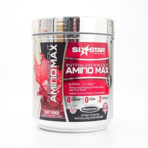 Six Star Intra-Workout Amino Max Fruit Punch 30 Servings (8.62 oz)