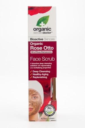 Organic Doctor Skincare Organic Rose Otto Face Scrub 4.2 fl oz