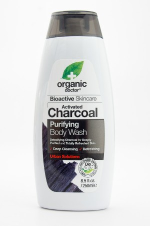 Organic Doctor Bioactive Skincare Activated Charcoal Purifying Body Wash 8.5 fl oz