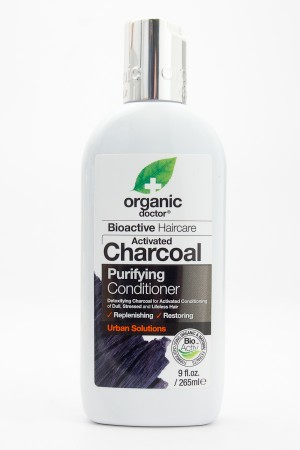 Organic Doctor Bioactive Haircare Activated Charcoal Purifying Conditioner 9 fl oz