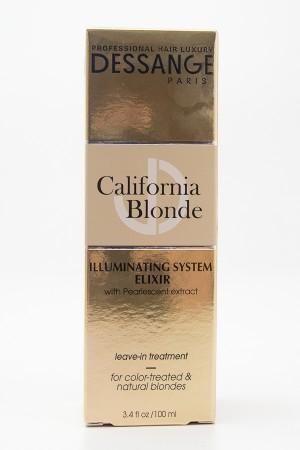 Dessange California Blonde Illuminating System Elixir Leave-in Treatment 3.4 fl oz