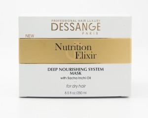 Dessange Nutrition Elixir Deep Nourishing System Mask 8.5 fl oz