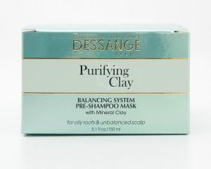 Dessange Purifying Clay Balancing System Pre-Shampoo Mask 5.1 fl oz