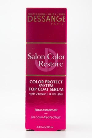Dessange Salon Color Restore Color Protect System Top Coat Serum Leave-In Treatment 3.4 fl oz