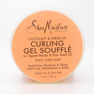 Shea Moisture Coconut & Hibiscus Curling Gel Souffle 12 oz