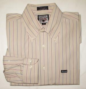 Faconnable Striped Shirt Men's Medium
