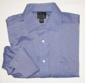 Jos A Bank Traveler's Collection Shirt Men's 15.5-33