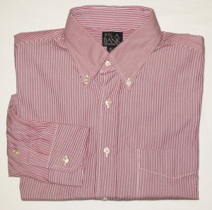 Jos A Bank Dress Shirt Men's 15.5-35 Regular
