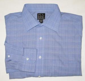 Jos A Bank Traveler's Collection Shirt Men's 16.5-35