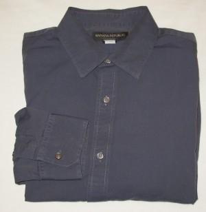 Banana Republic Dress Shirt Men's 17-17.5 - XL - Extra Large
